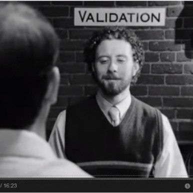 Validation movie screen shot