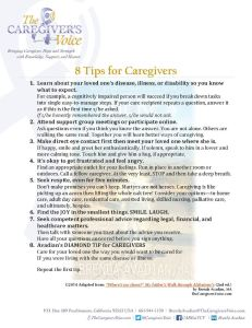 Eight Tips for Caregivers - Avadian