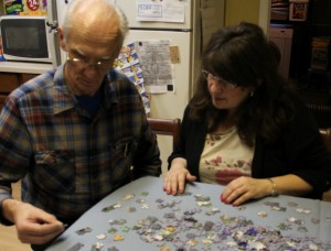 Sheri Zschocher and hubby Puzzle