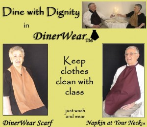 TCV's Product Review - DinerWear Scarf