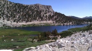 Mt Langley - Clear Lakes and sky above 11,000 feet