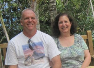 Jay and Sue Kraker in Hawaii