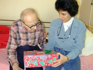 Martin Avadian's last Christmas and his daughter Brenda Avadian
