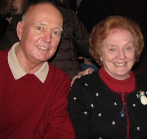 Mary Doolan - TCV's Caregiver of the Month-- with her husband