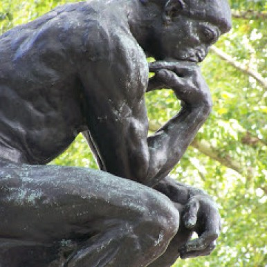 Rodin The Thinker Photo by Crystal Borde 100_1022