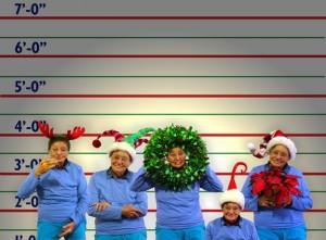 Santa Line Up courtesy of Carol Wright