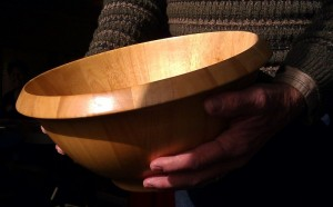 The Wooden Bowl image photo by Brenda Avadian