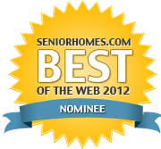 The Caregiver's Voice is a nominee in the SeniorHomes.com Best of the Web 2012.