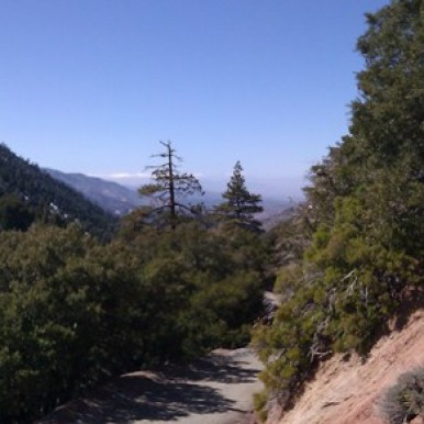 Vincent Gap - Mt. Baden Powell