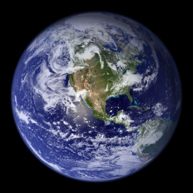 NASA's image of earth