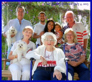 Claire Abel - 4 generations From 1 to 103.5