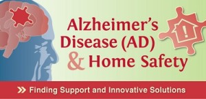 Alzheimer's disease and Home Safety link to infographic