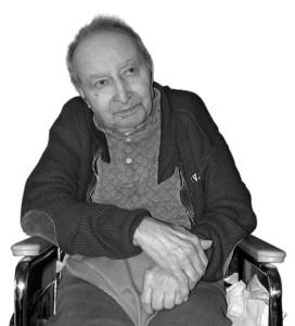 Martin Avadian in a Geri Chair