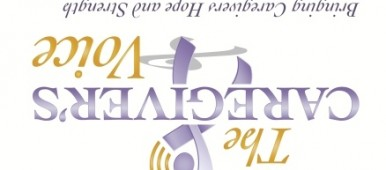 The Caregiver's Voice Logo Upside Down