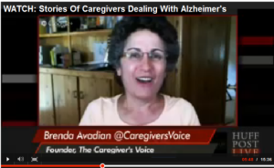 Brenda Avadian The Caregiver's Voice on HUFFPost Live