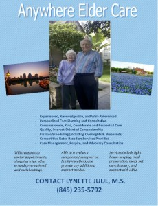 Lynette Juul's Caregiving Flyer
