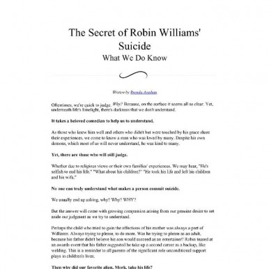 Brenda Avadian-The-Secret-of-Robin-Williams-Suicide---What-We-Do-Know_Page_1
