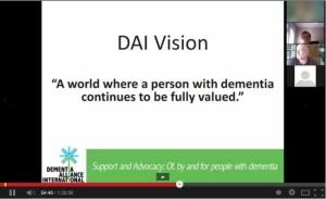 Dementia Alliance International Vision