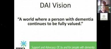 Dementia Alliance International Vision