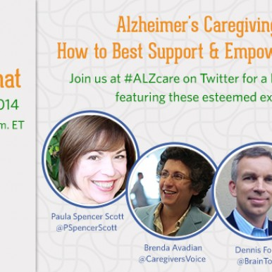 #ALZchat for Alzheimer Caregivers