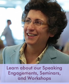 Learn more about our Speaking Engagements, Seminars, and Workshops - Brenda Avadian