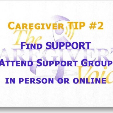 Avadian's Tip #2 for Caregivers