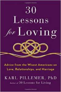 Lessons for Loving book - Karl Pillemer