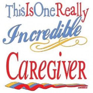 One Really Incredible Caregiver Right at Home decal
