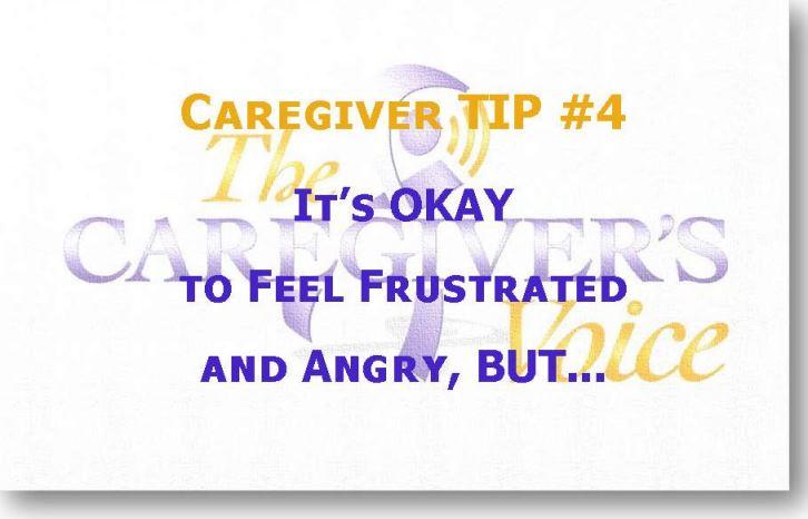 Caregiver TIP 4