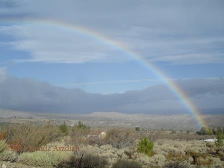 Caregiver see the rainbow after the clouds if LIFE