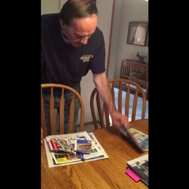 Brad Swientoniowski video of his father with dementia