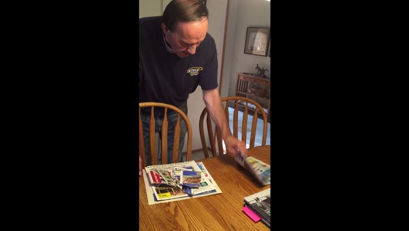 Brad Swientoniowski video of his father with dementia