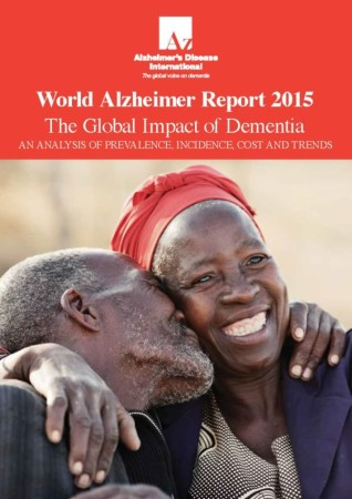 Cover of Alzheimer's Disease International's World Alzheimer Report 2015
