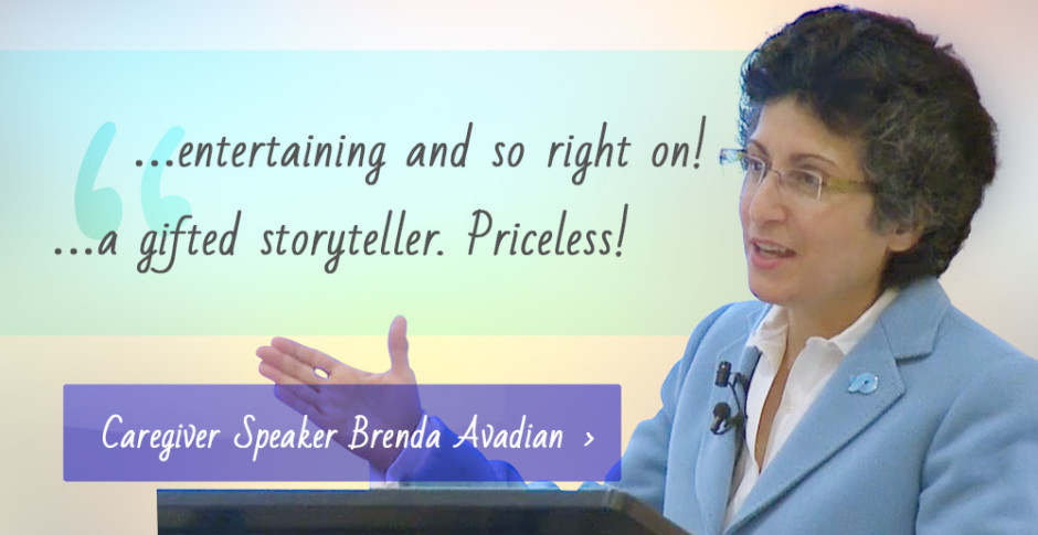 Caregiver Speaker Brenda Avadian