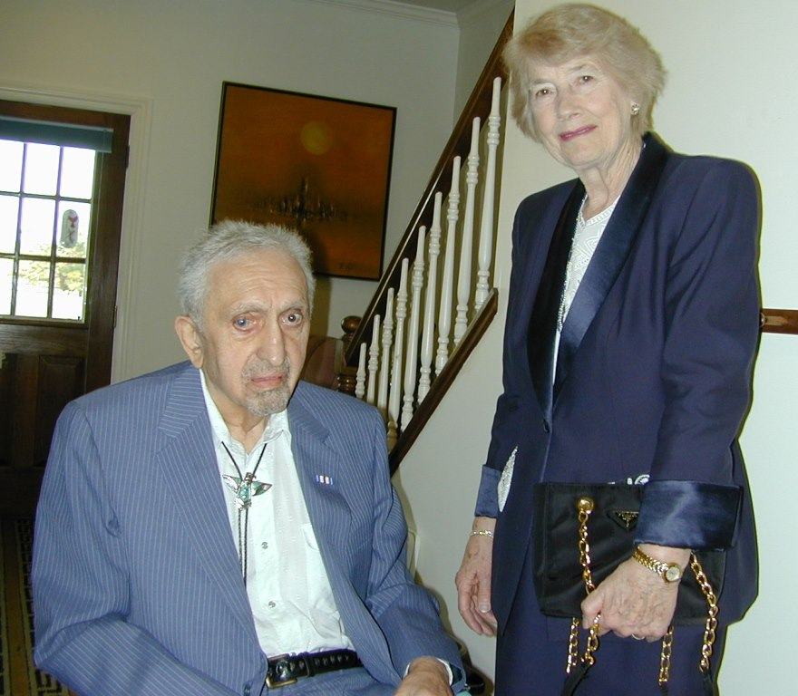 Uncle George lived with Parkinson's and Aunt Dorothy