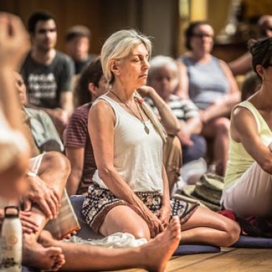 Time for meditation in order to bolster one's energy - Garrison Institute