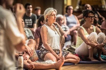 Meditation helps rebalance and bolsters one's energy - Garrison Institute
