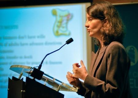 Sharona Hoffman speaking