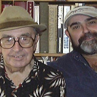 Gary Joseph LaBlanc with Dad Joseph
