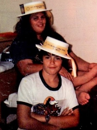 Gary Joseph LeBlanc sister Rose partic in 1975 Intl Special Olympics