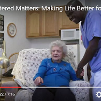 Person-Centered Matters VIDEO