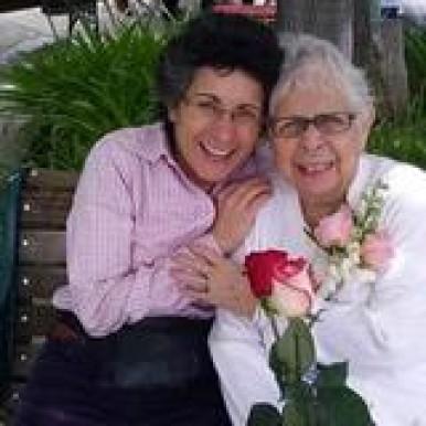 Caregiver Elisa and Brenda Avadian