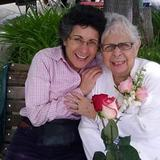Caregiver Elisa and Brenda Avadian