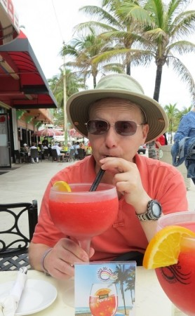 Michael Ellenbogen VOICE with Dementia Enjoying Tropical Drink