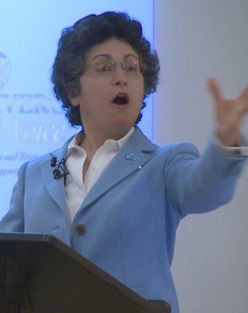 Brenda Avadian Caregiver Speaker Gesture
