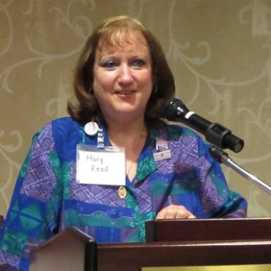 Mary Howard Read speaking