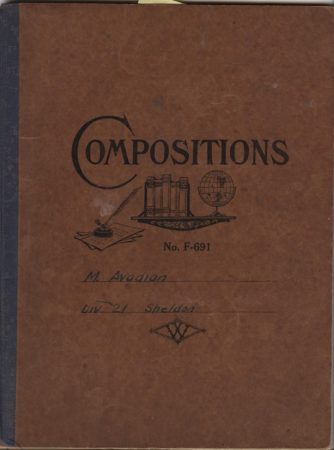 Martin Avadian's Composition Book