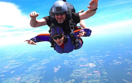 Mary Radnofsky Skydiving