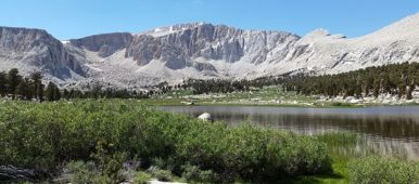 Cottonwood Lake below Mt. Langley in the Sierras