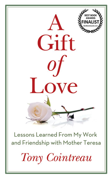 A Gift of Love book cover by Tony Cointreau